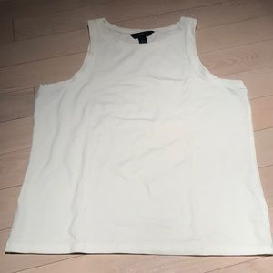 Gap White Tank Top Size XL